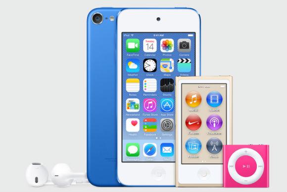 iPod con nuevos colores