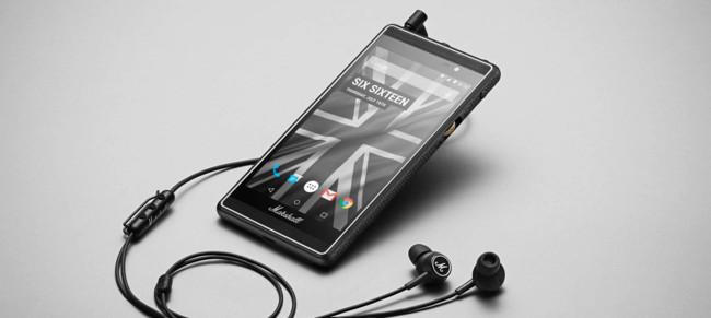 Marshall móvil Android pantalla