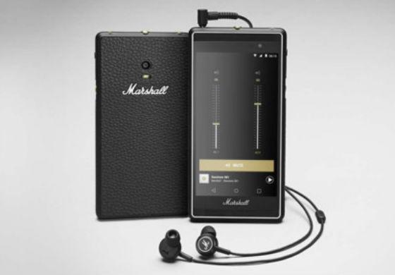 Marshall móvil Android