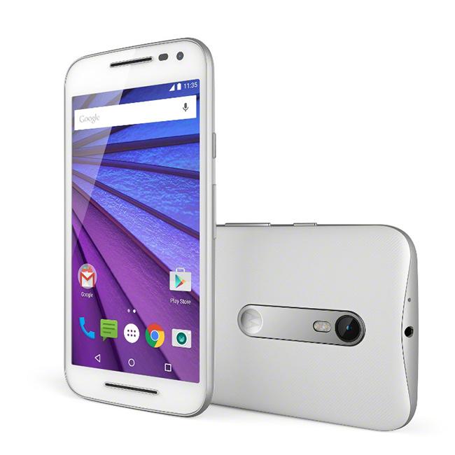 Motorola Moto G tercera generación color blanco