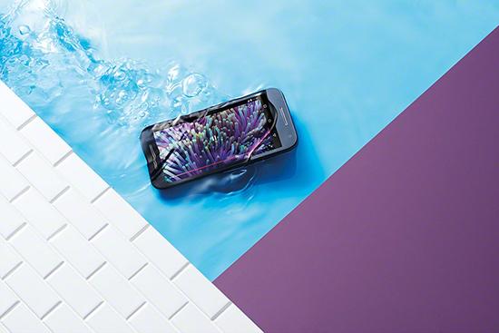 Motorola Moto G tercera generación color blanco pantalla HD