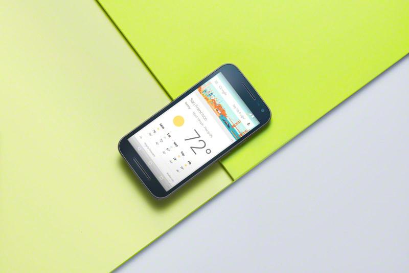 Motorola Moto G tercera generación color negro Google Now