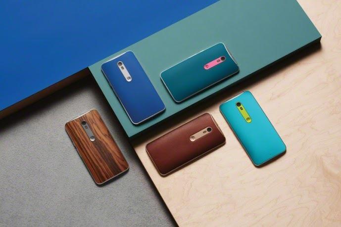 Motorola Moto X Style colores