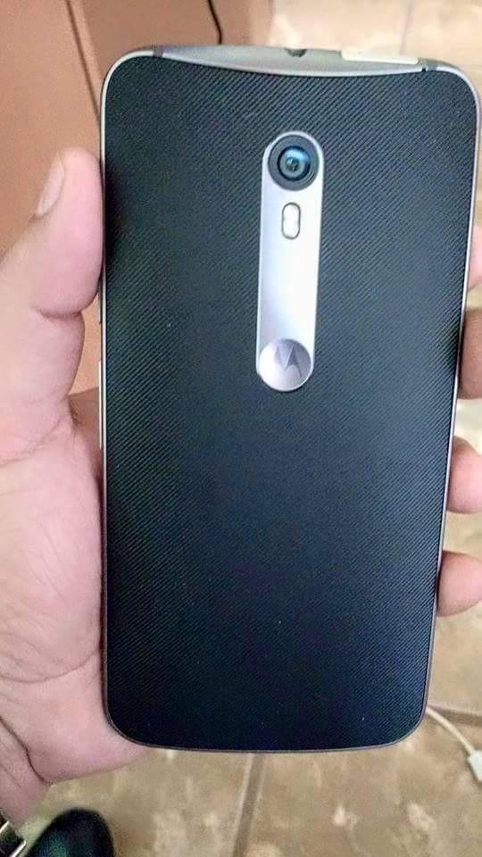 Motorola Moto X 2015 parte posterior