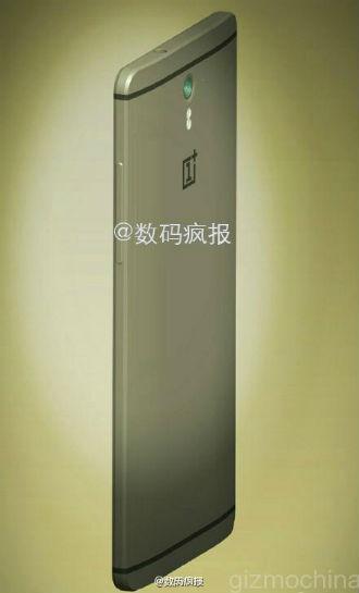 OnePlus 2 con cuerpo de metal