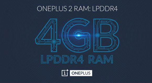 OnePlus 2 memoria RAM de 4 GB