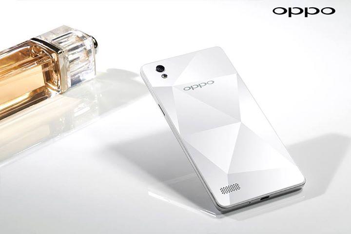 Oppo Mirror 5s parte posterior