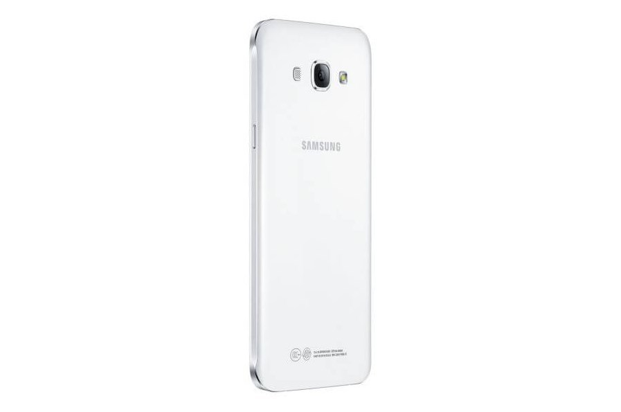 Samsung Galaxy A8 parte posterior