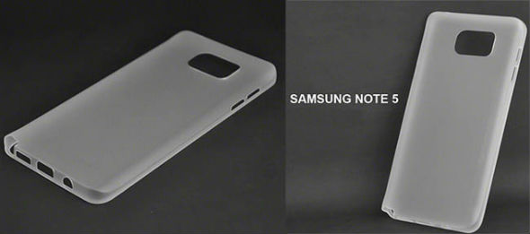 Samsung Galaxy Note 5 carcasa