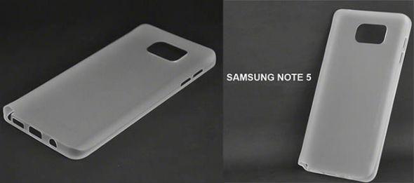 Samsung Galaxy Note 5 carcasa