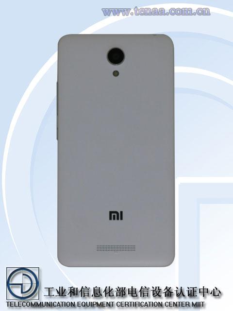 Xiaomi Redmi Note 2 vista posterior
