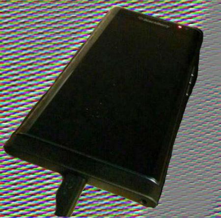 Blackberry Venice pantalla