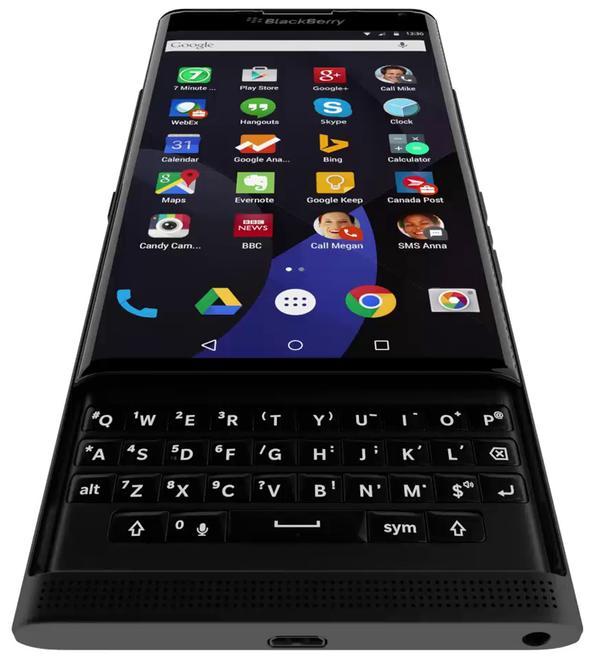 Blackberry Venice teclado