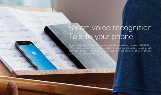 Doogee  F3 Pro reconocimiento de voz