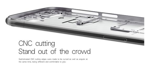 Doogee  F3 Pro tecnología de cortado para los bordes curveados