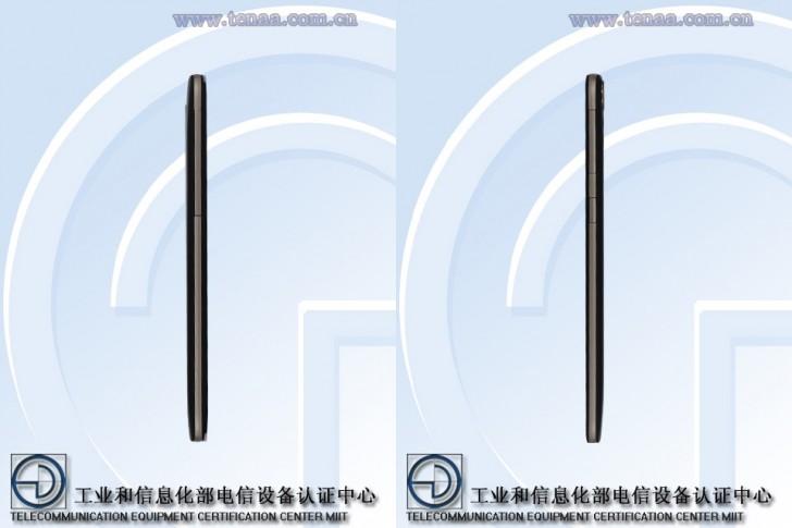 HTC D828w vista lateral