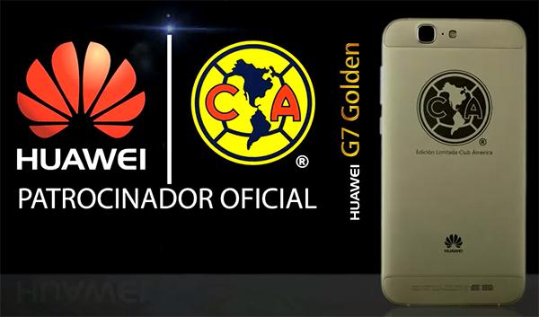 Huawei G7 Edición Limitada Club América