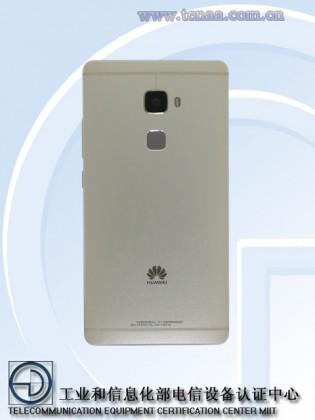 Huawei Mate 7S vista posterior