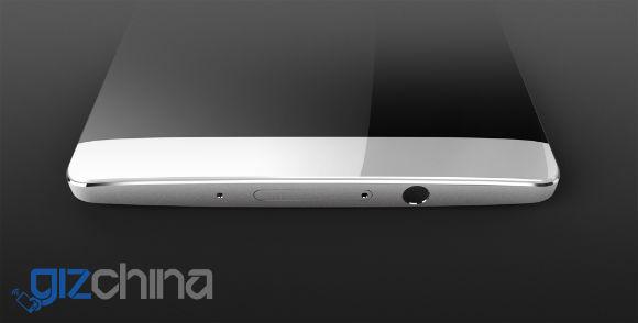 Huawei smartphone pantalla curva