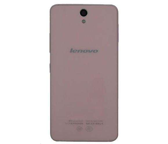 Lenovo Vibe S1 vista posterior