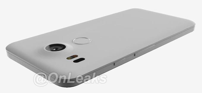 LG Nexus 2015 lector de huella
