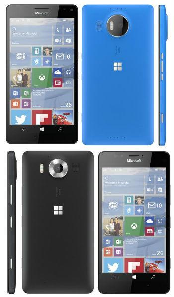 Microsoft Lumia 950 y 950 XL
