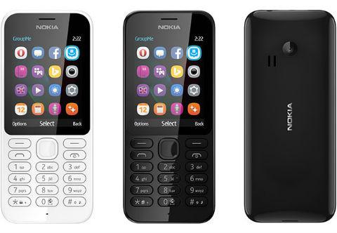 Microsoft Nokia 222 y 222 Dual SIM