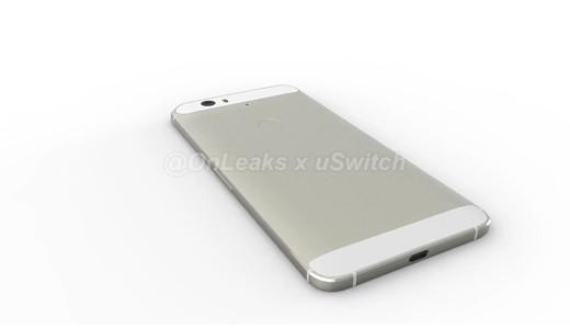Nexus Huawei vista posterior