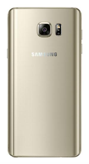 Samsung Galaxy Note 5 vista posterior