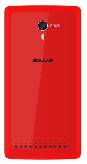 Solone Shake S4501 color rojo cámara trasera