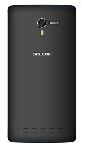 Solone Shake S4501 color negro cámara trasera