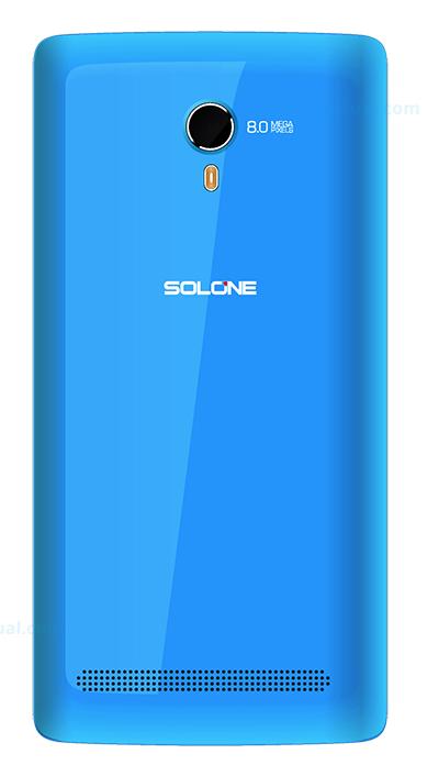 Solone Shake S4501 color azul cámara trasera