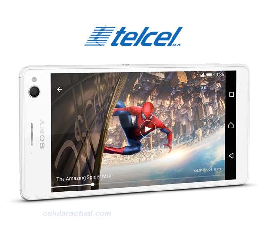 Sony Xperia C4 en Telcel logo