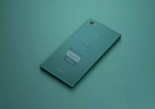 Sony Xperia Z5 color verde