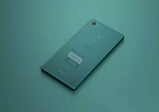 Sony Xperia Z5 color verde