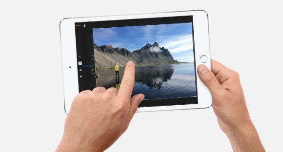 Apple iPad mini 4 pantalla