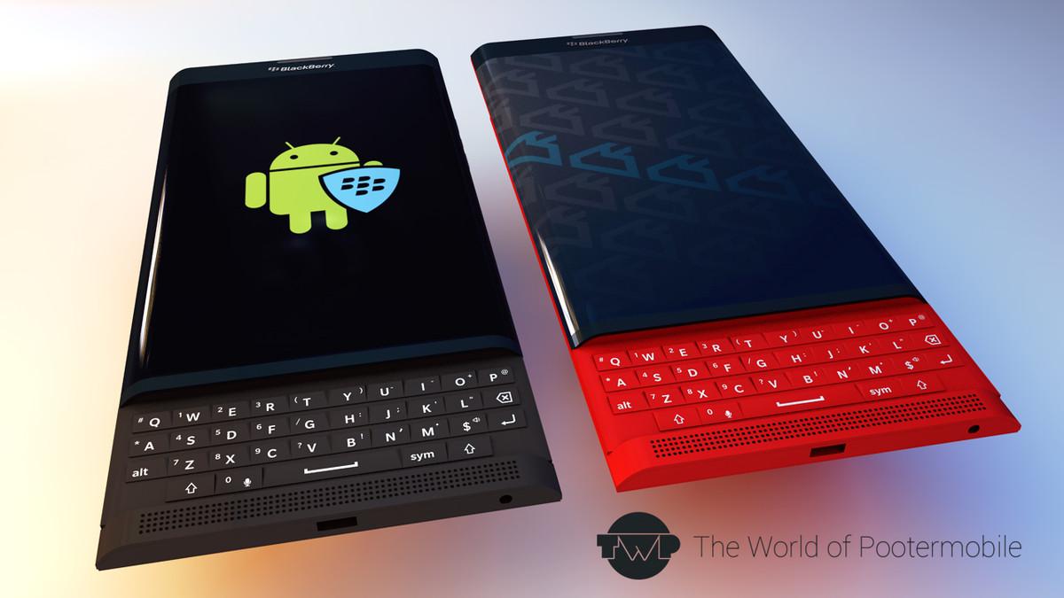 BlackBerry Venice color rojo