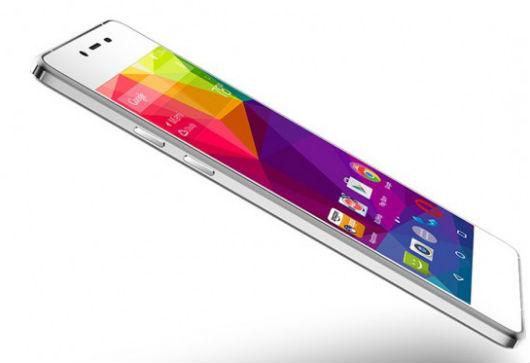 Blu Vivo Air LTE vista lateral