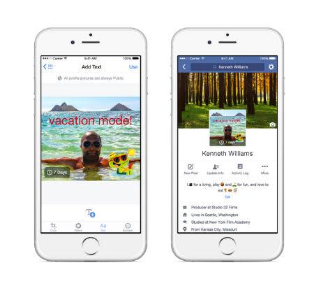 Facebook Mobile foto de perfil