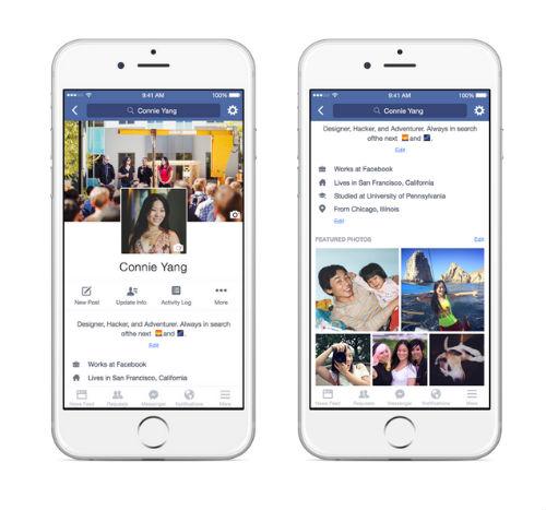 Facebook Mobile perfil