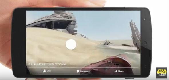 Facebook videos en 360 grados