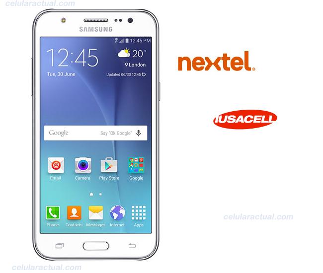 Samsung Galaxy J5 en México con Nextel y Iusacell AT&T