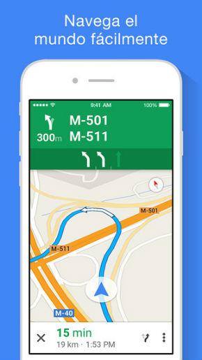 Google Maps en Apple Watch