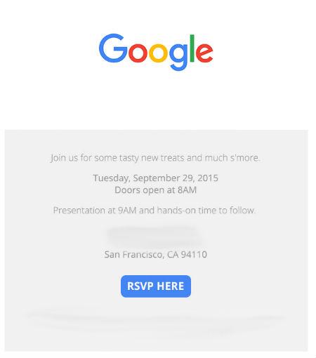 Google presentará Nexus el 29 de septiembre