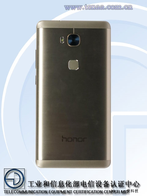 Huawe Honor 5X vista posterior