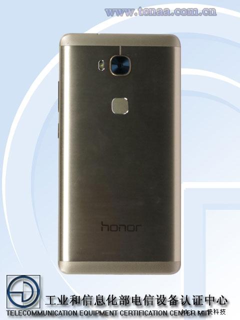 Huawe Honor 5X vista posterior