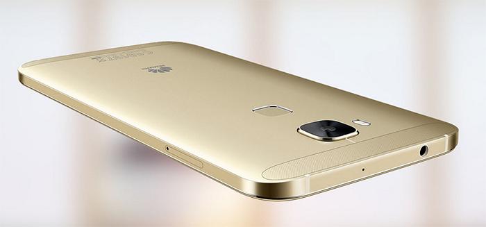 Huawei G8 vista posterior