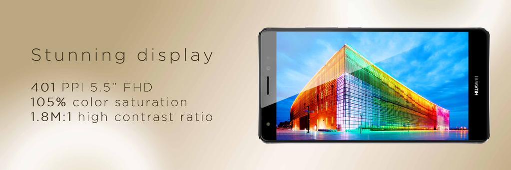 Huawei Mate S pantalla