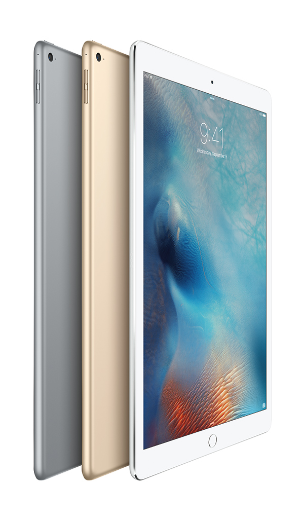 Apple iPad Pro oficial con 12.9  pulgadas