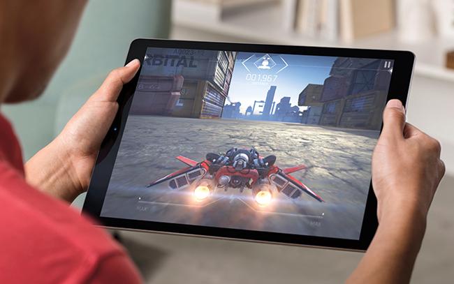 Apple iPad Pro en video juego 2